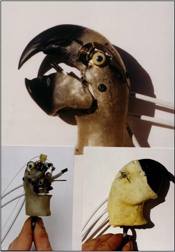 ANIMATRONIC MACAW